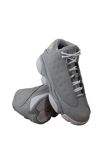 772c1ce577d Amazon.com | Jordan 439669-018 Preschool 13 Retro GP Wolf Grey Pink ...