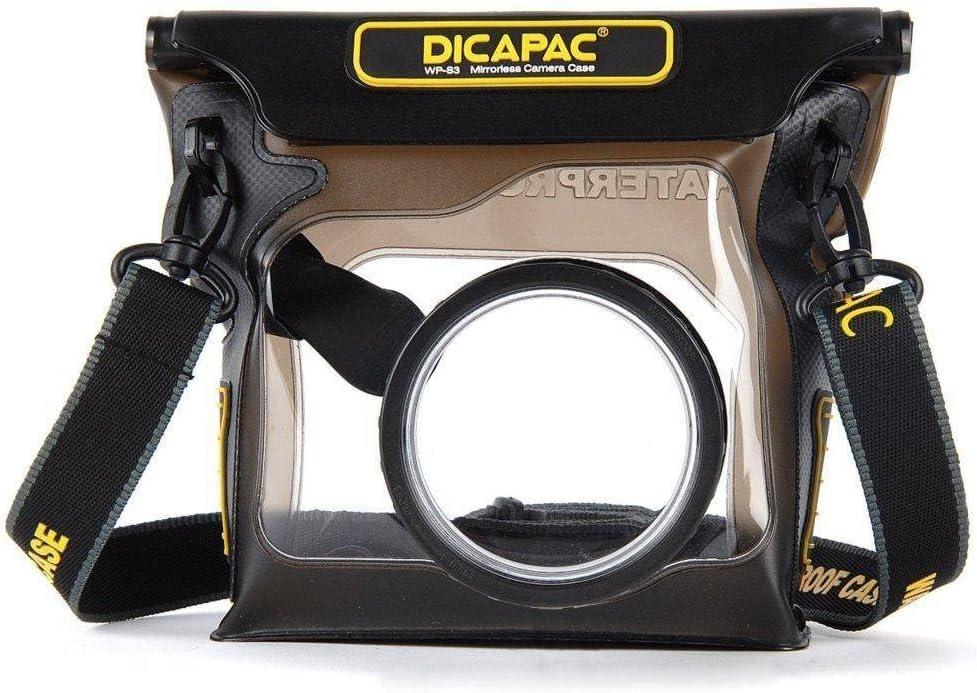 DiCAPac WP-S3 - Funda Sumergible para cámaras, Negro y ...