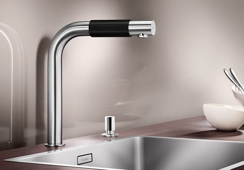 Blanco Saga, Küchenarmatur mit innovativem Bedienkonzept ...