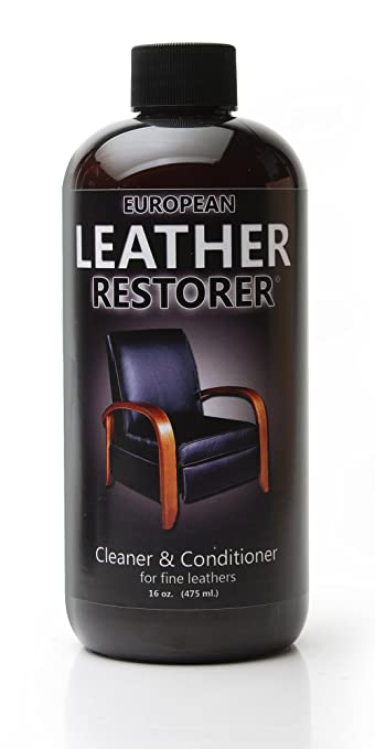Admirable European Leather Restorer The Best One Step Leather Conditioner And Cleaner For Furniture Auto Interiors Jackets Purses Boots Sports Equipment Machost Co Dining Chair Design Ideas Machostcouk