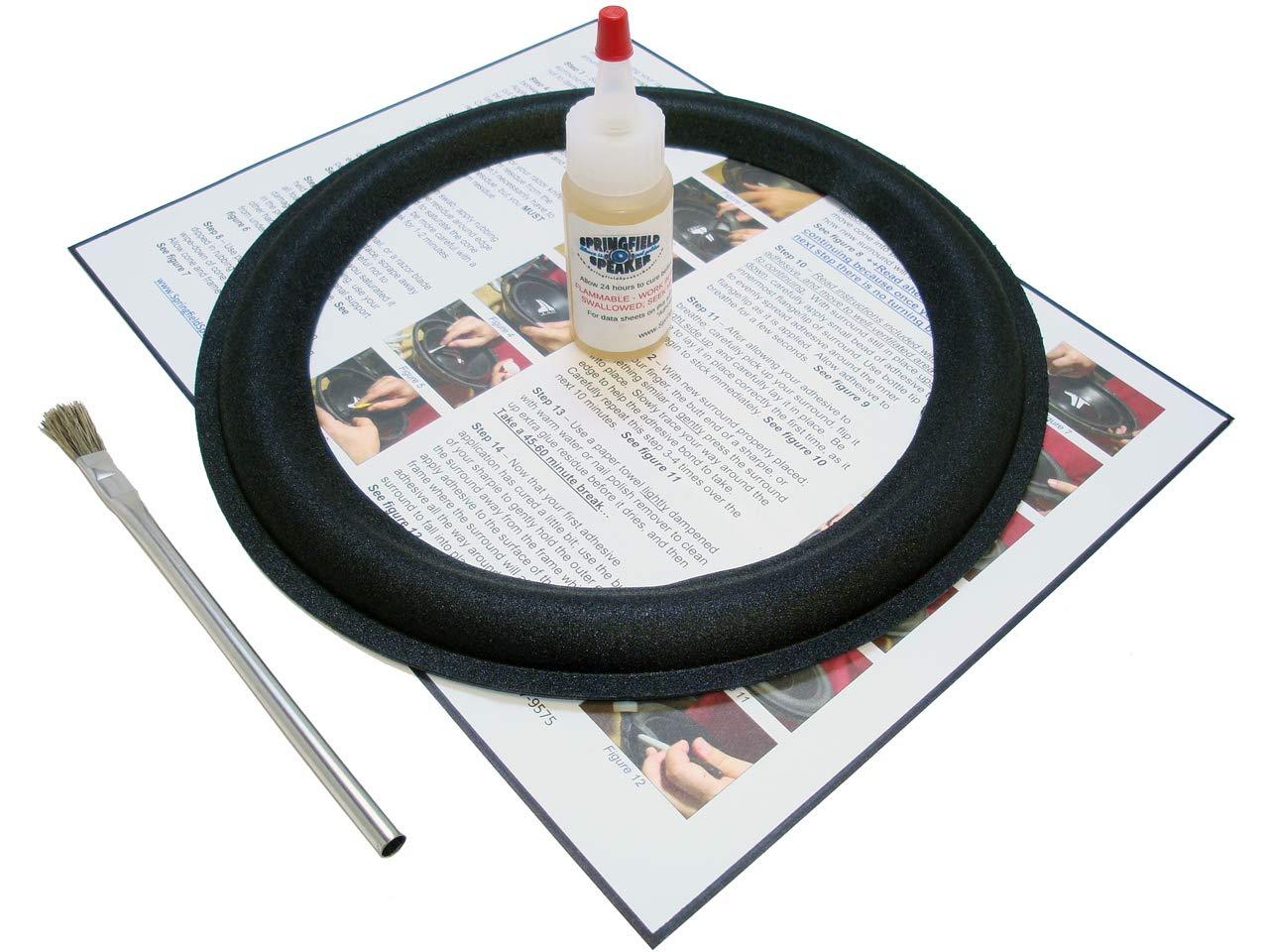 1 Boston Acoustics 10'' Speaker Foam Surround Repair Kit