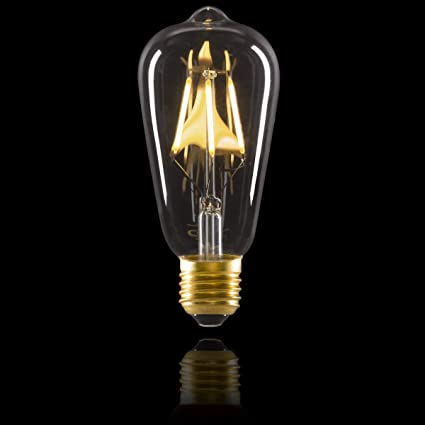 Amazon.com: Darice Cleveland Vintage Lighting 4 Filament LED Edison Bulbs