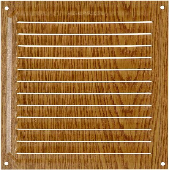Brinox B70220A Rejilla de ventilación, Aluminio, 15 x 15 cm: Amazon.es: Bricolaje y herramientas