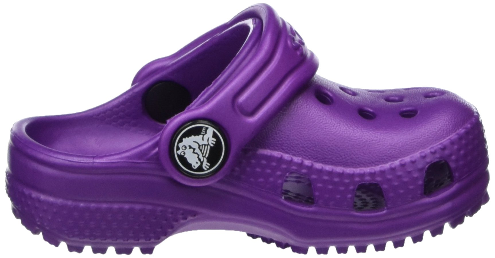 Crocs Kid's Classic Clog K Shoe, Amethyst, 7 M US Toddler by Crocs (Image #7)