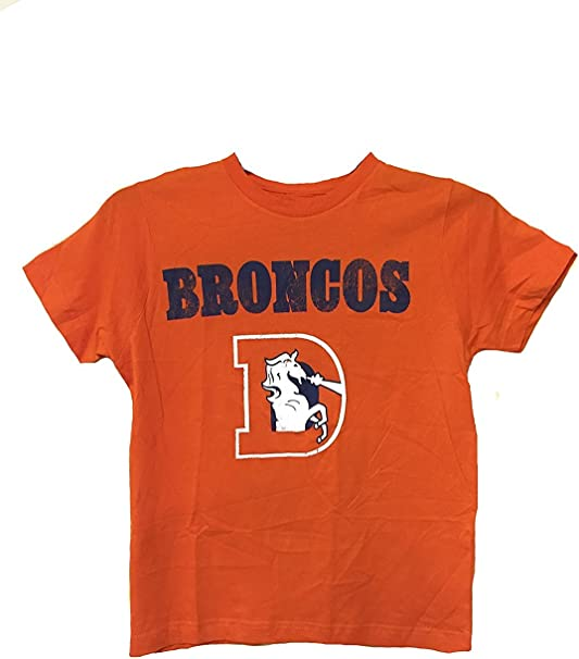 orange broncos shirt