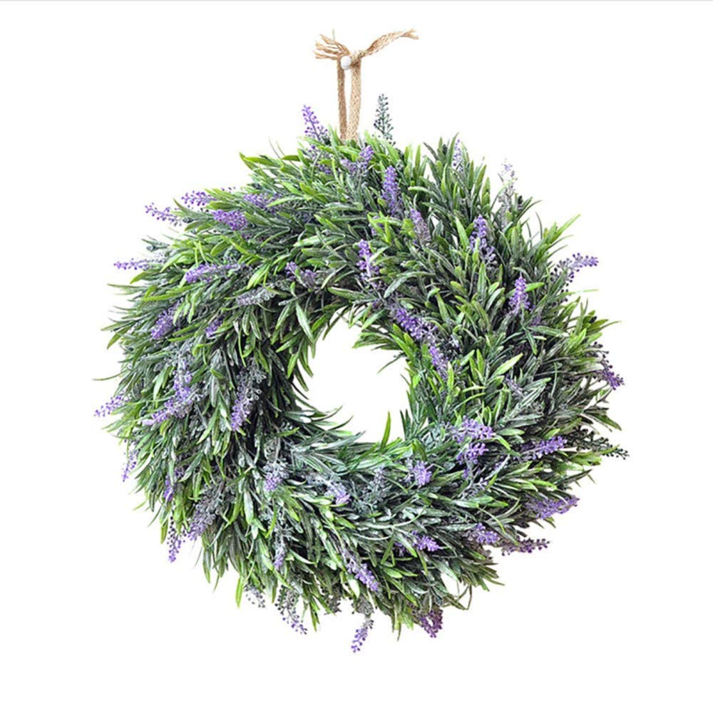 MARJON-FlowersArtificial-Lavender-Flowers-Wreath-Wedding-Party-Festival-Christmas-Decoration-Door-Hanging-Wall-Window-Decoration-for-Indoors-and-Outdoors