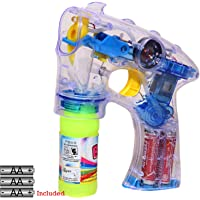 Lucid Special Bubble Guns with Light & Music (Crystal Version 2.0)