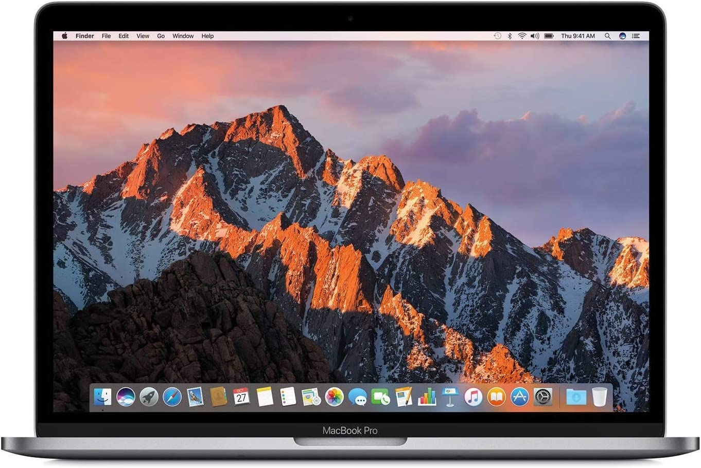 Apple 13in MacBook Pro, Retina Display, 2.3GHz Intel Core i5 Dual Core, 8GB RAM, 128GB SSD, Space Grey, MPXQ2LL/A (Renewed)