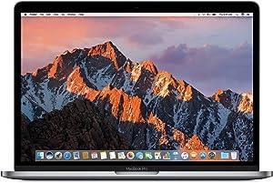 Apple 13in MacBook Pro, Retina Display, 2.3GHz Intel Core i5 Dual Core, 8GB RAM, 128GB SSD, Space Grey, MPXQ2LL/A (Renewed)