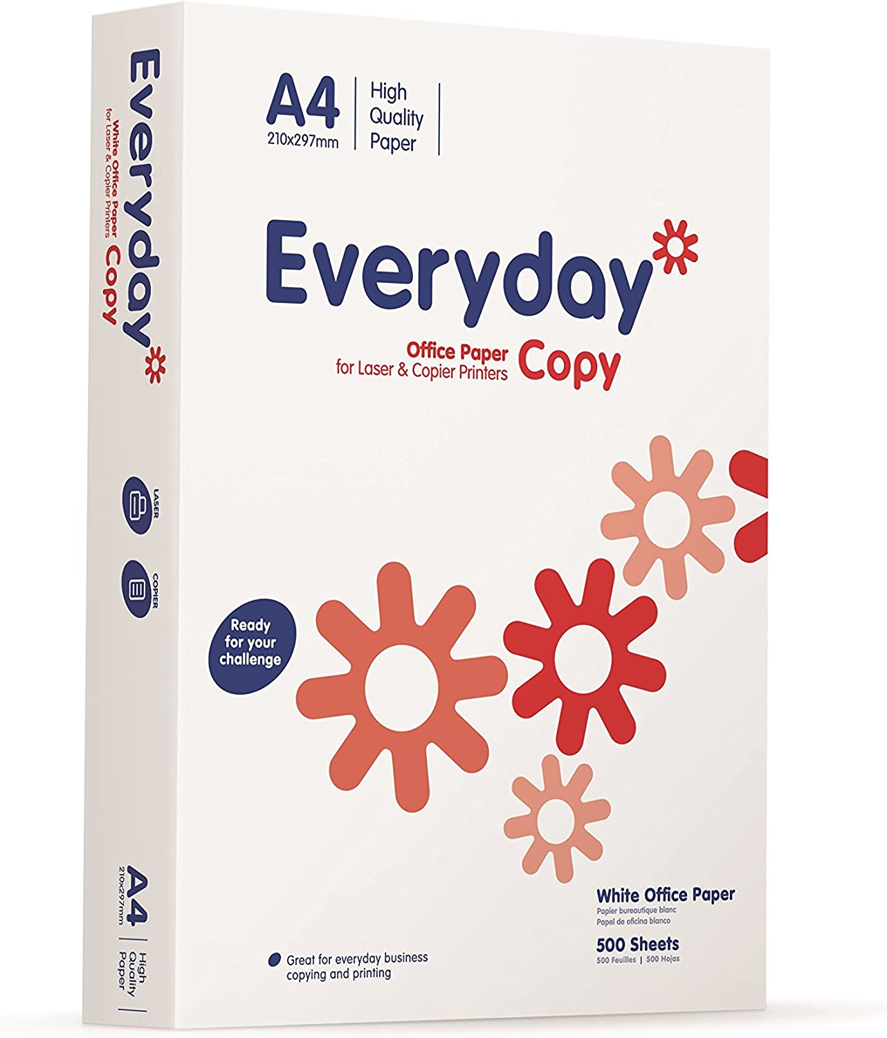 500 Sheets Everyday Paper A4 70gsm 1 Ream