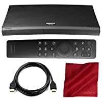 Samsung UBD-M9500 HDR UHD Upscaling Blu-ray Player and with HDMI Cable + Fibertique Cloth