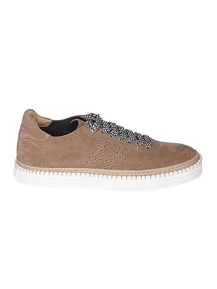 Hogan Hombre Hxm2600k850i9sc808 Beige Gamuza Zapatillas: Amazon.es: Zapatos y complementos