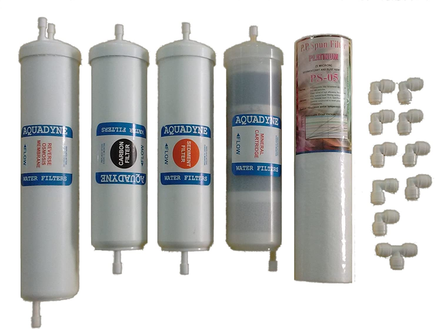 ae96c41b9 Aquadyne Water Filters Ro Spares Service Filter Cartridges For Kent Ro  Water Purifier  Amazon.in  Home   Kitchen