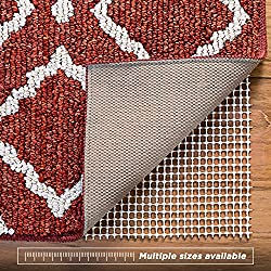 Non-Slip Rug Pad for Hard Floors, Extra-Strong-Grip Thick Padding