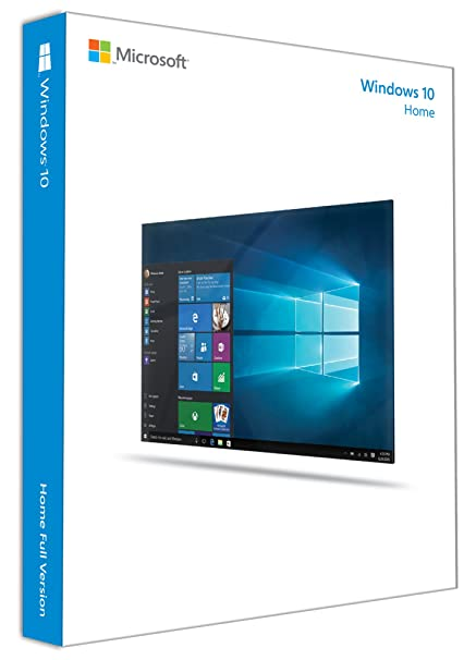 Microsoft Windows 10 Home Edition 32BIT/64BIT IT, FPP (Full packaged product), USB