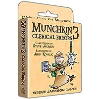 Steve Jackson Games 1416 Munchkin 3- Clerical Errors