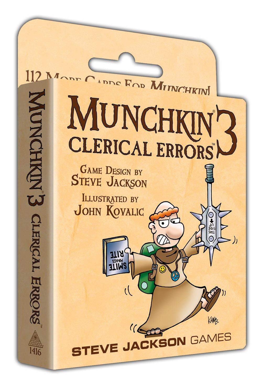 Steve Jackson Games Munchkin 3 - Clerical Errors