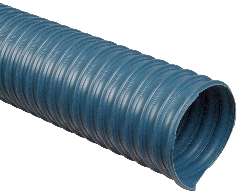 Flexadux R-3 PVC Duct Hose, Blue, 2.5'' ID, 0.035'' Wall, 25' Length