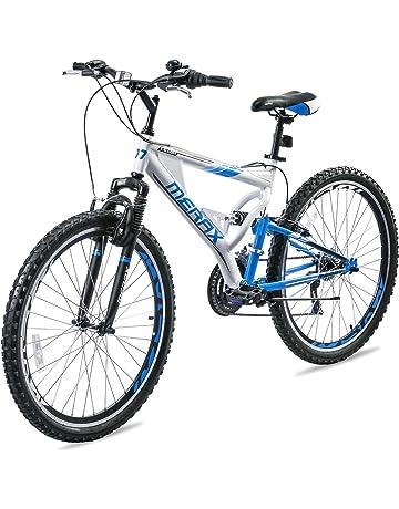 87f2ada5fef Merax Falcon Full Suspension Mountain Bike Aluminum Frame 21-Speed 26-inch  Bicycle