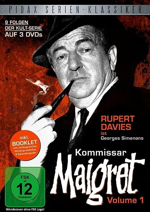 Kommissar Maigret, Vol. 1 / 9 Folgen der legendären Kultserie ...
