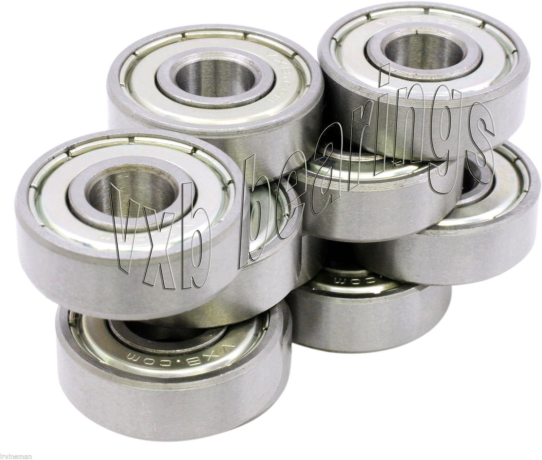Pack of 10 Bearing 608ZZ 8x22 mm 608Z Metric Ball Bearing VXB Bearings Useful