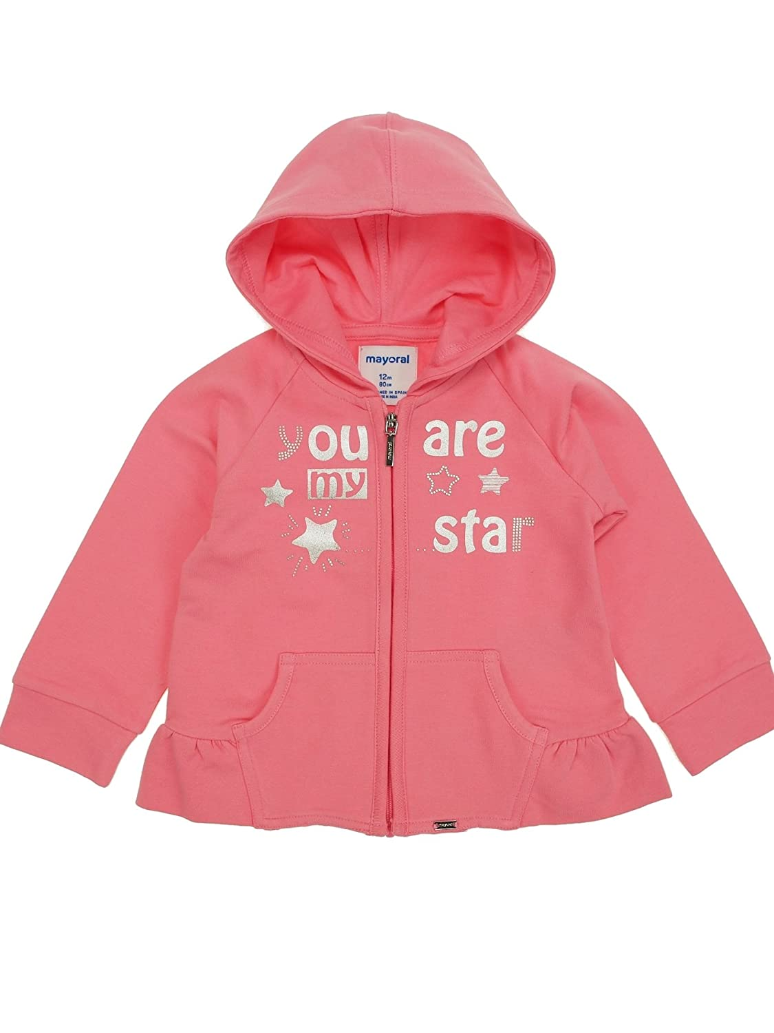 Mayoral 1432 Chewingum Fleece Pullover for Baby-Girls
