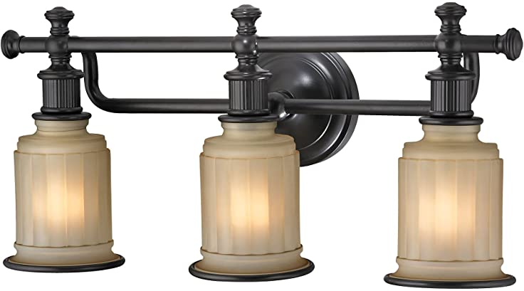 Elk Lighting 520123 Acadia Collection 3 Bath Light Oil Rubbed