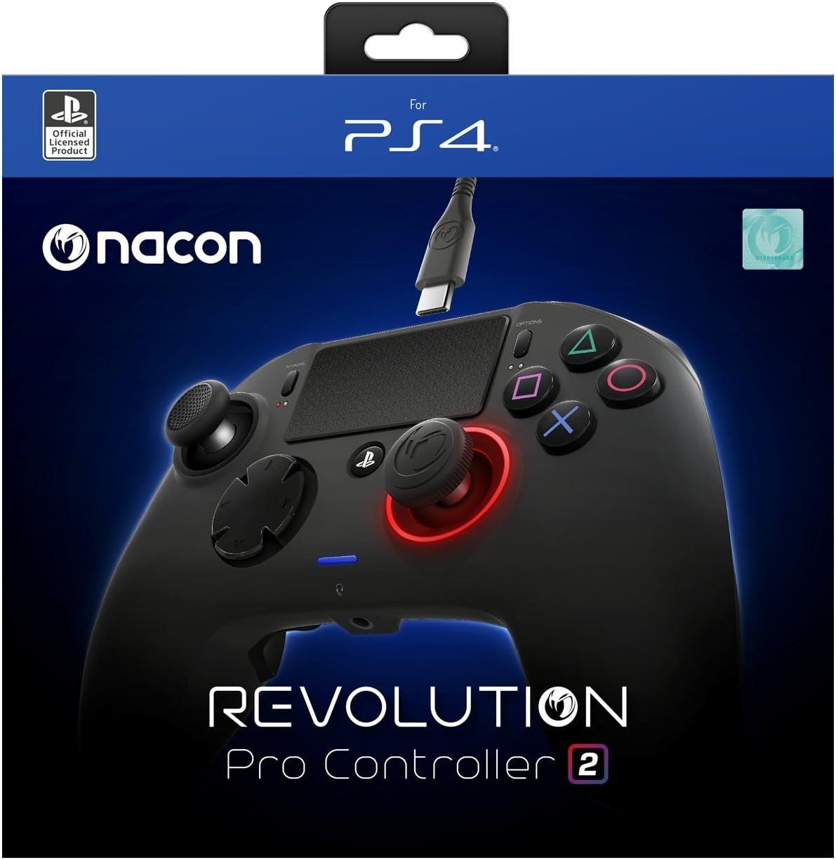 Amazon com: NACON Revolution Pro Controller V2 [Wired