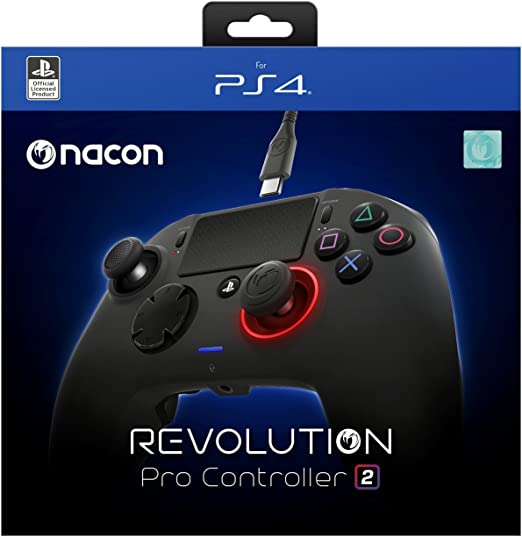 Nacon Revolution Pro Controller V2 Gamepad Ps4 Playstation 4 Esports Fighting Customisable Sony Playstation 4 Computer And Video Games Amazon Ca