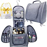 Hanging Travel Toiletry Bag for Women&Mens Toiletry Bags for Traveling-Extra Large Water-resistant Toiletry Travel Bag…