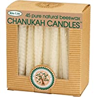 Rite Lite, Candles Beeswax Hanukkah Multi, 45 Count