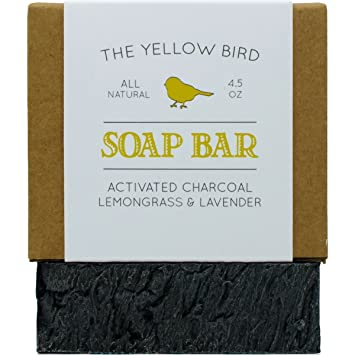 #1 Best Seller! Organic Ingredients Handcrafted In Usa Detox Charcoal Soap