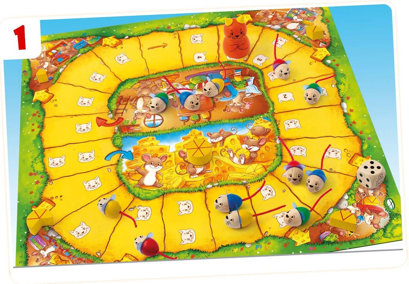Ediciones MasQueoca - Ratones a la Carrera (Viva Topo) (Español)(Portugués): Amazon.es: Juguetes y juegos