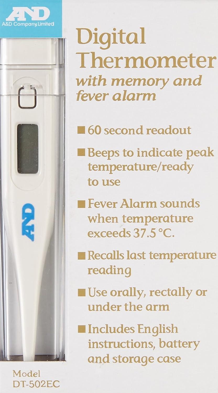 A&D Medical DT-502-EC Digital Thermometer DT502EC