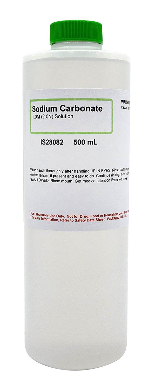 Sodium Carbonate, 1M, 500mL - The Curated Chemical Collection