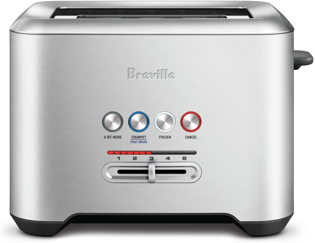 Breville BTA720XL Bit More 2-Slice Toaster, Brushed Stainless Steel