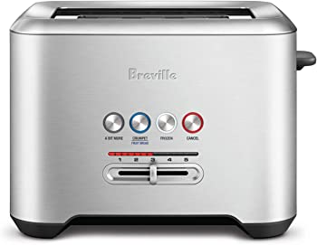 Breville The Bit More 4 Slice Stainless Steel Long Slot Toaster