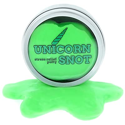 Gears Out Unicorn Snot Stress Putty – Stress Relief Toys – Unicorn Gifts – Stocking Stuffers for Girls – Stocking Stuffers for Women – Unicorns – Unicorn Boogers: Toys & Games