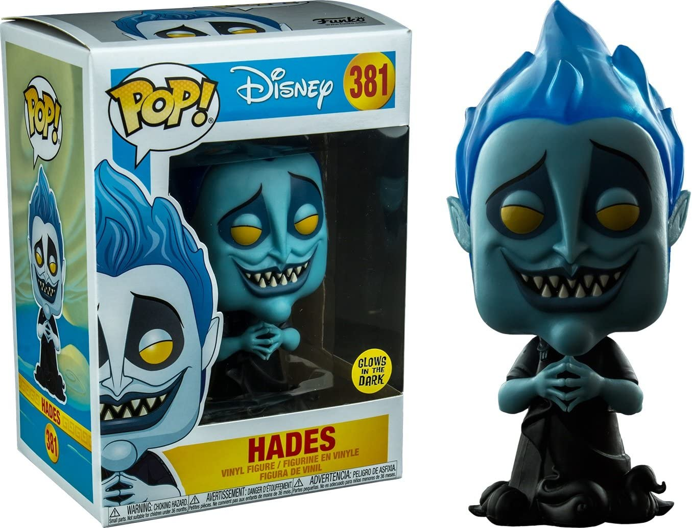 Funko Pop! Hades (Glow in the Dark) Exclusive Disney #381