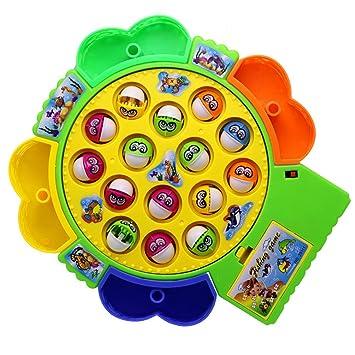 elctrica juguetes musicales pesca pesca juego de mesa para nios nias con peces caas