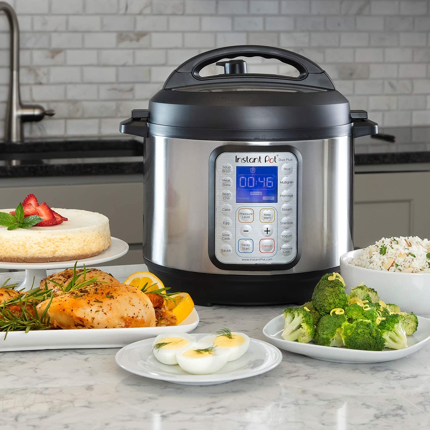 Instant Pot Duo Plus 8 Quart Nine In One - Stainless Steal Pressure Cookers