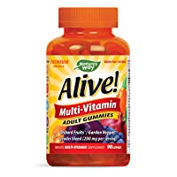 Nature's Way Alive!® Adult Premium Gummy Multivitamin, Fruit and Veggie Blend (150mg...