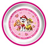 Playtex Mealtime Paw Patrol Plates for Girls - Pack of 3