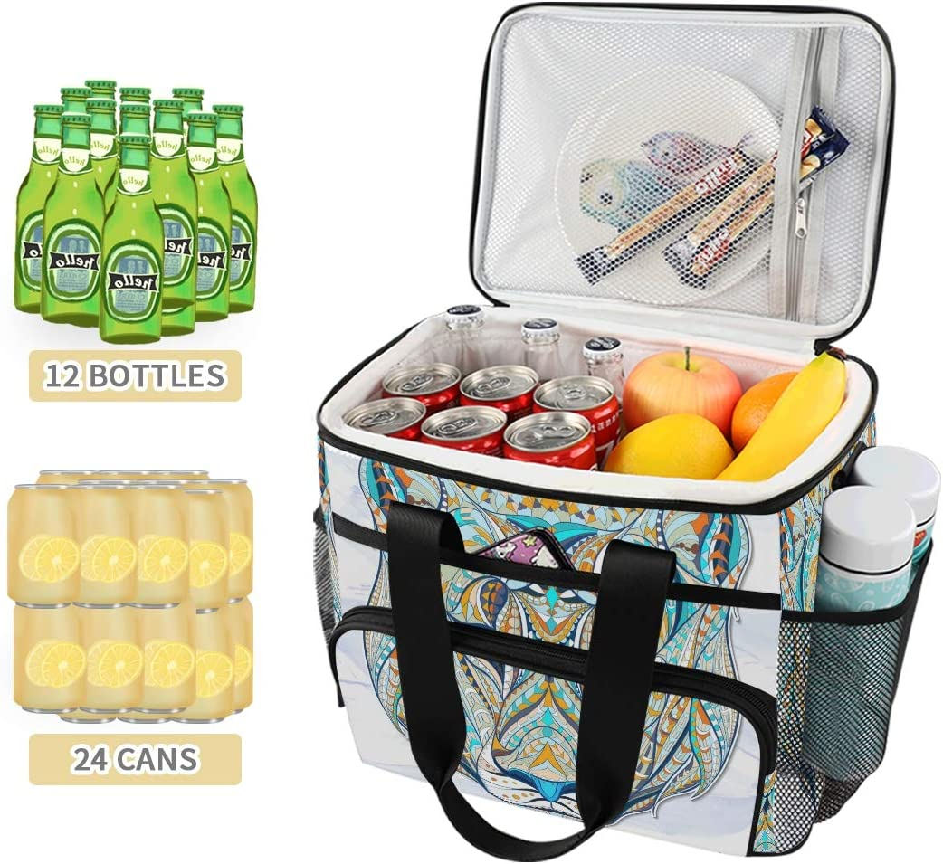 Pac Mac - Borsa termica morbida da viaggio, pieghevole, ideale per escursioni, spiaggia, picnic, barbecue Colore: 1.