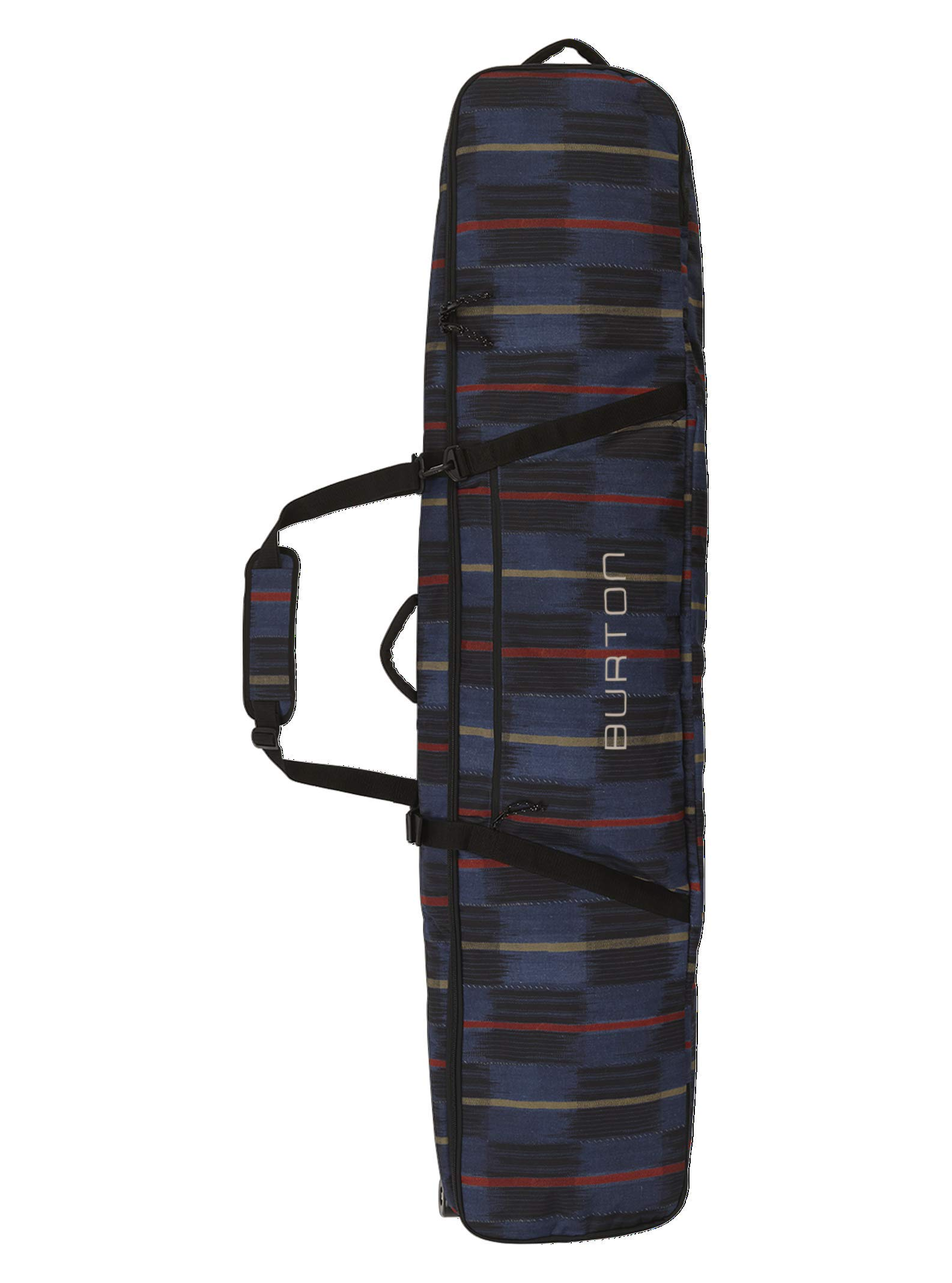 Burton Wheelie Gig Snowboard Bag, Check Yourself Print, 146 cm