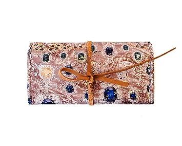 Amazoncom Angelinas Palace Lygen Jewelry Roll up Travel jewelry