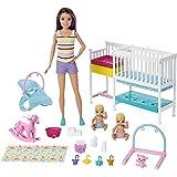 Barbie GFL38 Skipper Babysitters Inc Nap'n Nurture Nursery Dolls and Playset