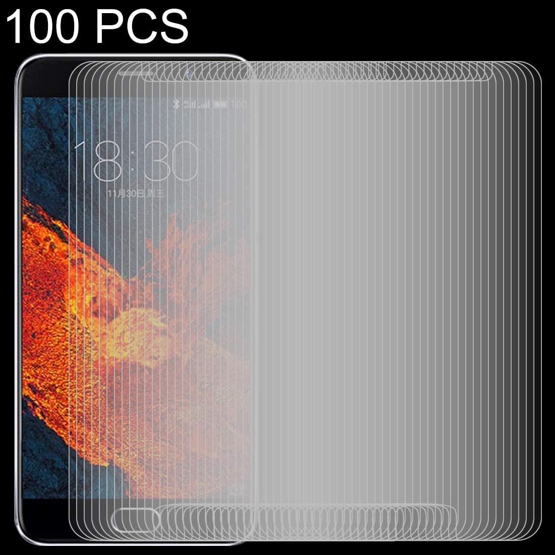 GUOSHU Premium Tempered Glass Screen Film 100 PCS 0.26mm 9H 2.5D Tempered Glass Film for Xiaomi Redmi Note 7 Anti-Scratch Screen Protector