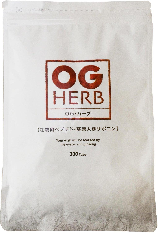 OGハーブ 300粒 牡蠣エキス 亜鉛 高麗人参 タウリン 配合 サプリ B003Q3UWV0   1袋