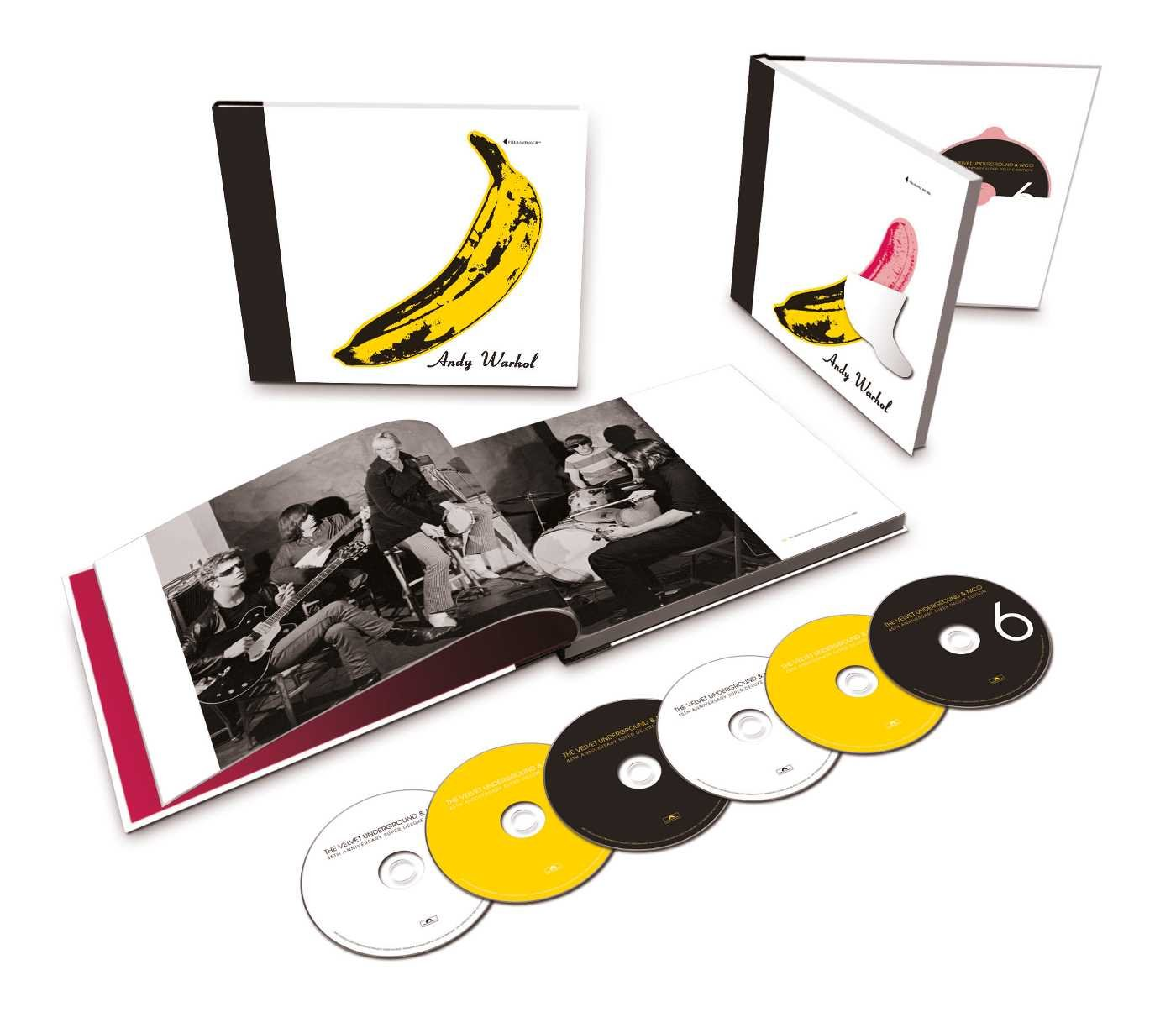 The Velvet Underground & Nico - 45th Anniversary [6 CD][Super Deluxe Edition]